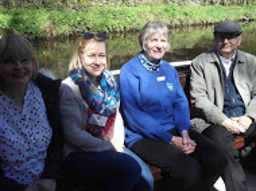 Community & Vocation - Guests enjoying the barge trip.